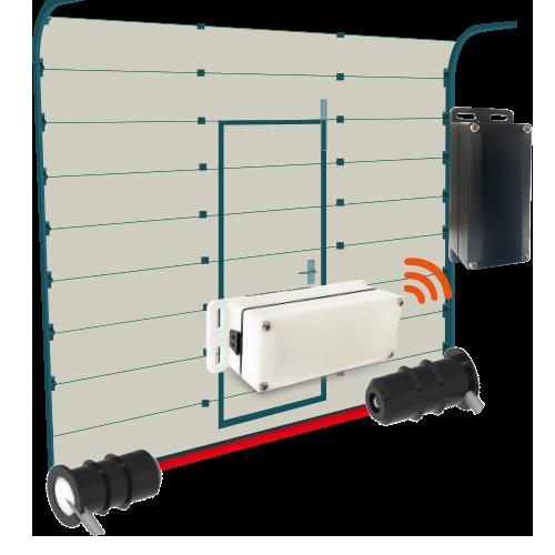 无线底边卡压保护系统